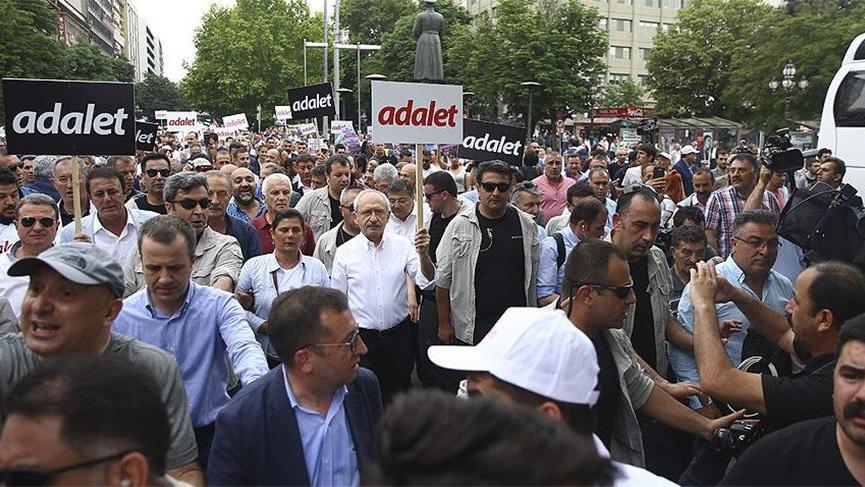 CHP yürüyüşüne saldırı planı davası