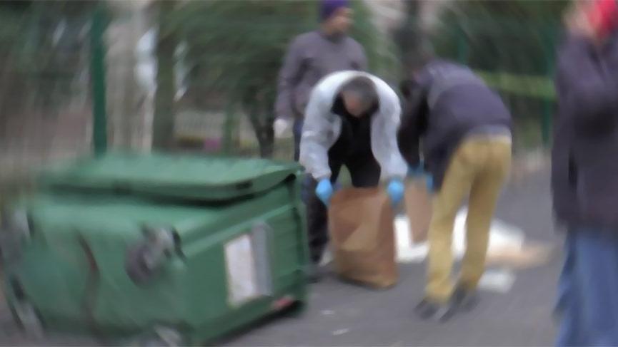 Vicdansızlar! İstanbul'da çöp kenarında yeni doğmuş bebek cesedi bulundu
