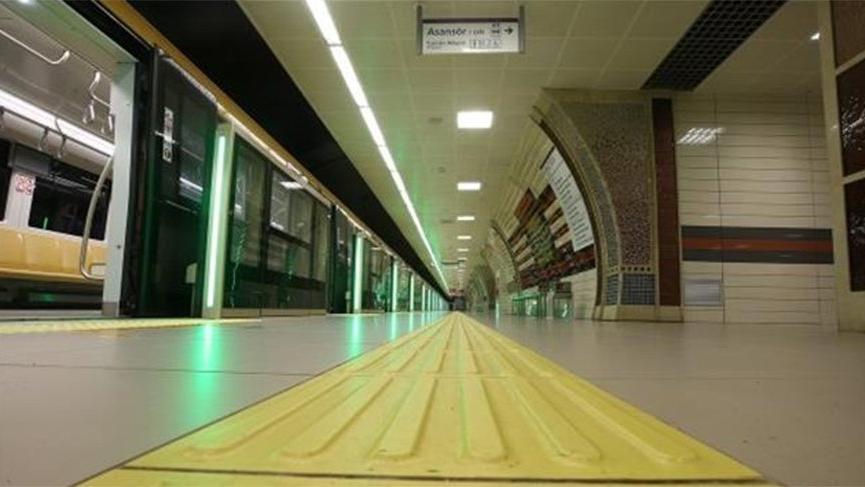 İlk sürücüsüz metronun ikinci etabı tamamlandı