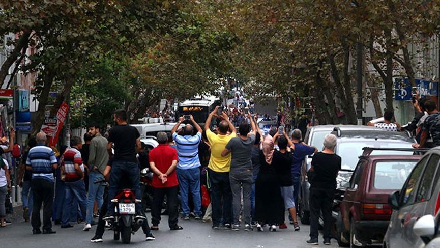 Bomba ihbarı yapılan yerde vatandaşların hareketi şaşkına çevirdi