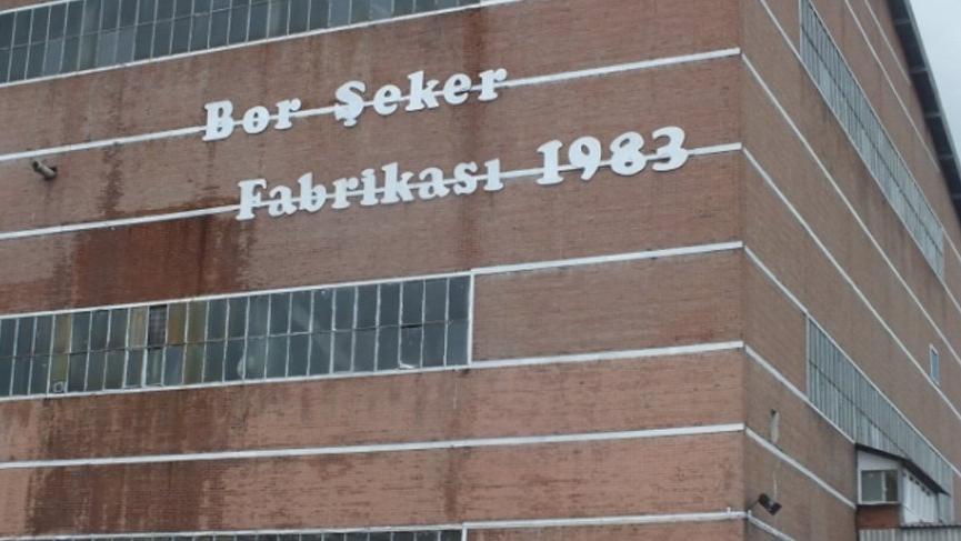 Devlet tarafından özelleştirilen Bor Şeker Fabrikası inşaat şirketine devrediliyor