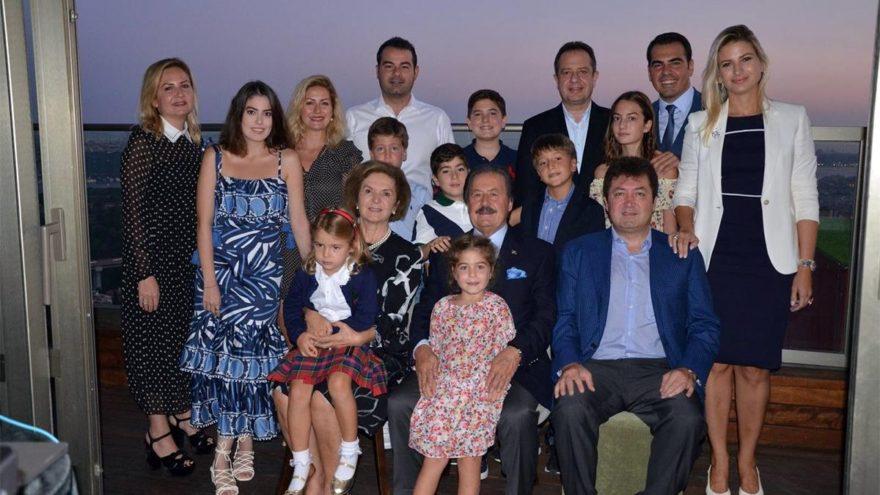 Çağlar ailesinin mutlu günü