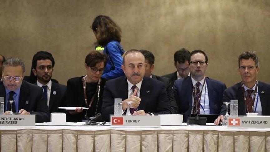 Çavuşoğlu BM'de Suriye hakkında açıklamalarda bulundu