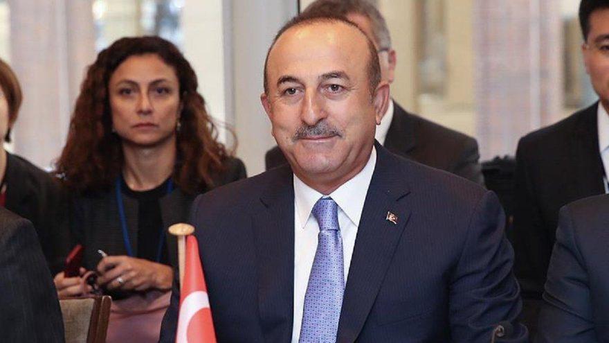 Dışişleri Bakanı Çavuşoğlu'ndan Suriye açıklaması