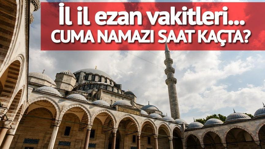 21 Eylül ezan vakitleri: Bugün cuma namazı saat kaçta? Cuma kaçta okunuyor? İstanbul, Ankara, İzmir ve tüm iller…
