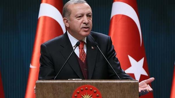 Erdoğan'dan Adli Yıl açılışı mesajı