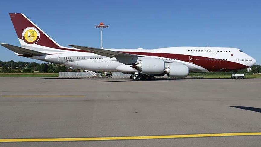 Katar'dan hediye uçağın deposu 280 bin dolara dolacak