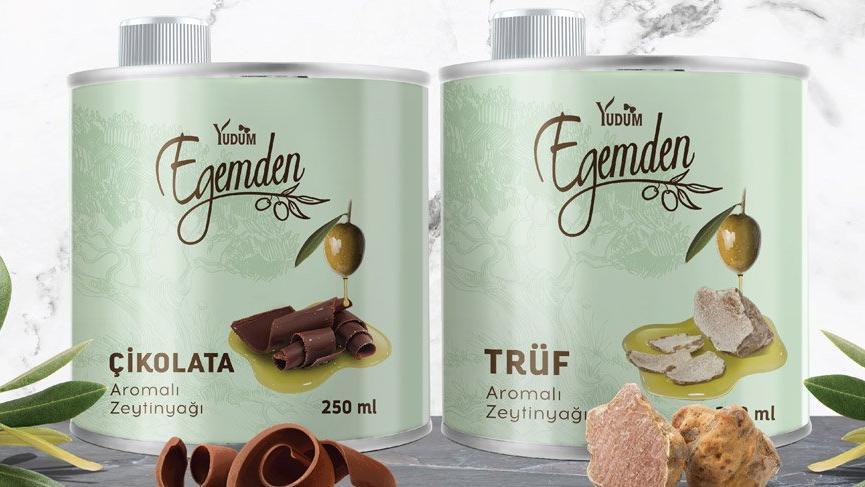 Egemden'den iki yeni gurme lezzet; Çikolatalı ve Trüflü zeytinyağı