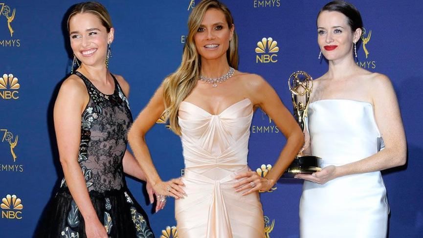 Emmy Ödülleri 2018 kırmızı halı görünümleri