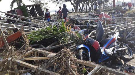 7.7'lik depremde facianın boyutu gözler önünde... Ölü sayısı 48'e yükseldi