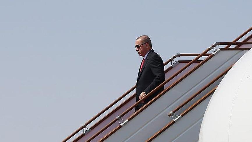 Cumhurbaşkanı Erdoğan New York'a ulaştı
