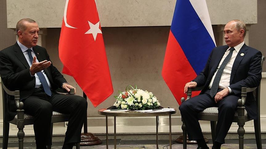 Erdoğan, Ruhani'den sonra Putin'le bir araya geldi