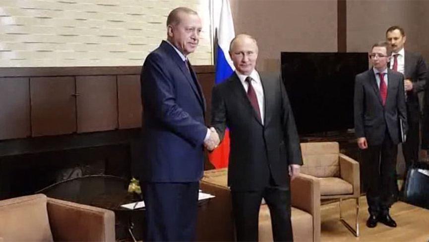 Cumhurbaşkanlığı'ndan Erdoğan'ın, Soçi'ye yapacağı çalışma ziyaretine ilişkin açıklama