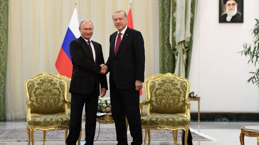 Bakan açıkladı: Erdoğan-Putin pazartesi görüşecek