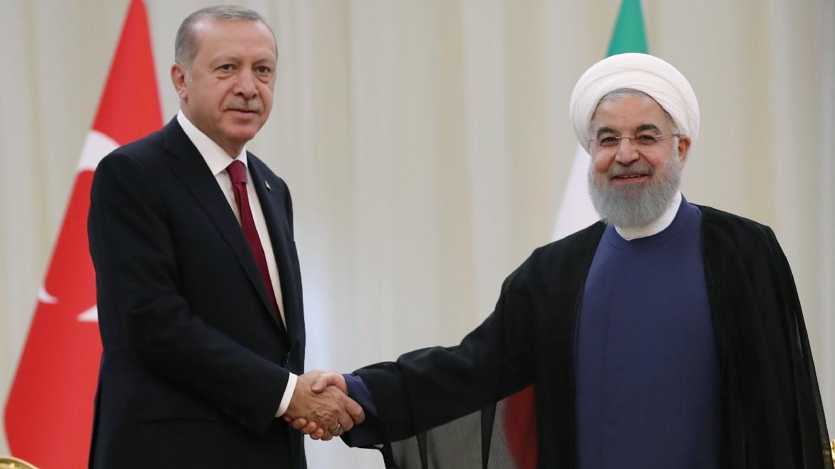 Cumhurbaşkanı Erdoğan üçlü zirve için İran'da