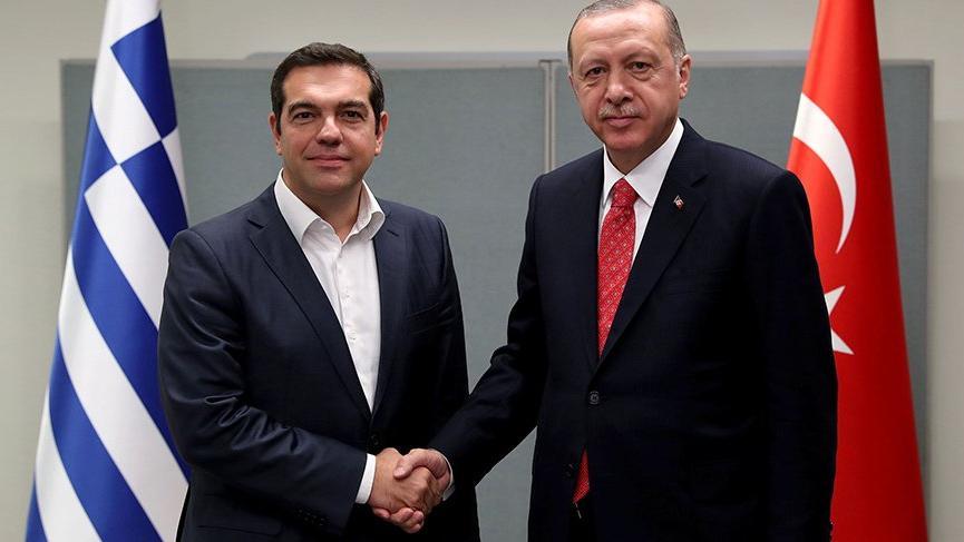 Erdoğan ve Çipras New York'ta buluştu