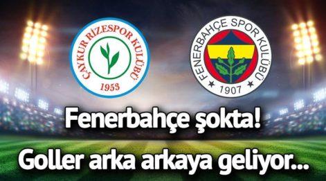 CANLI YAYIN: Çaykur Rizespor Fenerbahçe canlı izle! Rize FB maçında goller arka arkaya geldi...
