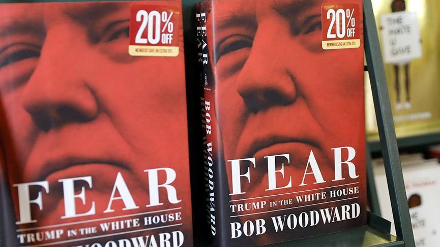 Trump'ı anlatan 'Korku' piyasaya çıktı