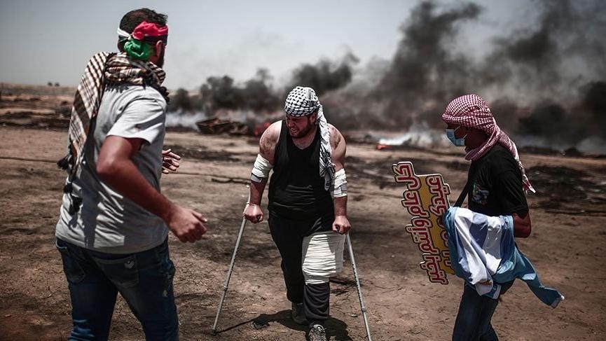 İsrail Filistinli eylemcilere saldırdı: 7 kişi öldü