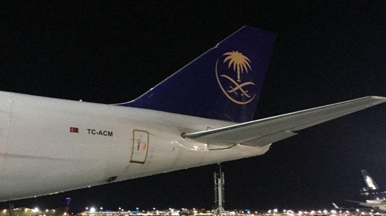 Frankfurt Havalimanı'nda Türk uçağı korkuttu