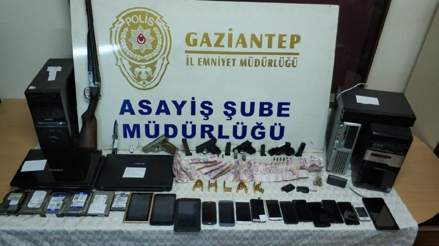 Gaziantep'te fuhuş operasyonu: 43 gözaltı, 9 tutuklama