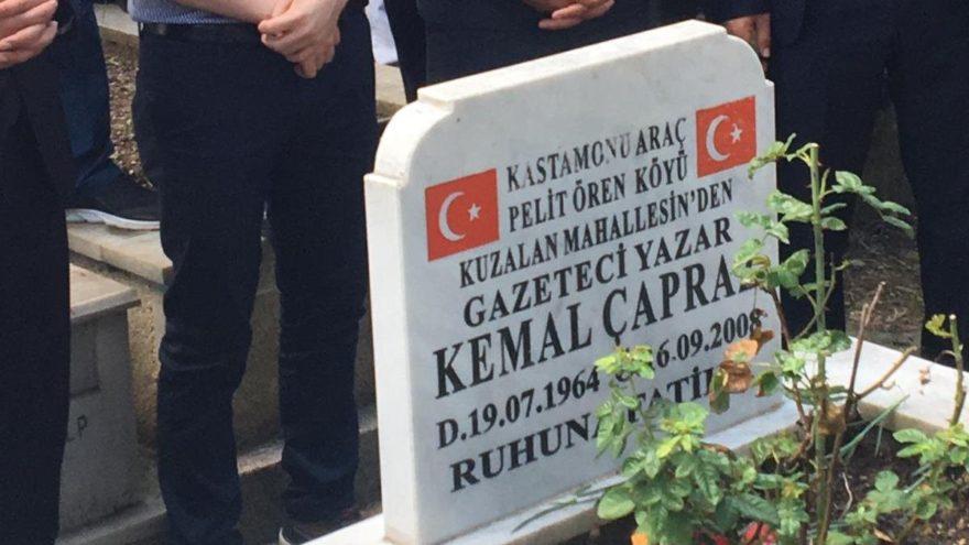 Gazeteci-Yazar Kemal Çapraz anıldı