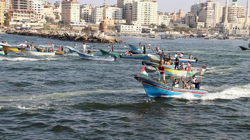 İsrail bu kez yardım teknelerine saldırdı!