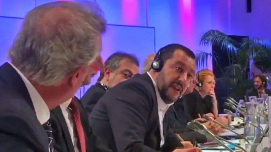 İki bakan AB toplantısında birbirine girdi, hakaretler havada uçuştu