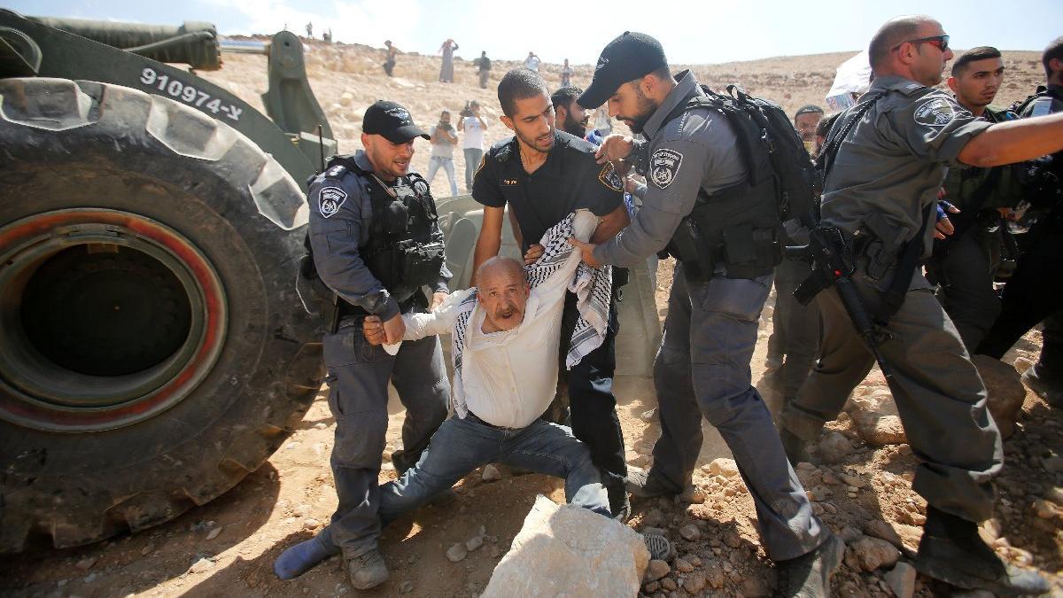 İsrail-Filistin arasında yıkım gerginliği... Sembol köyde sıcak saatler
