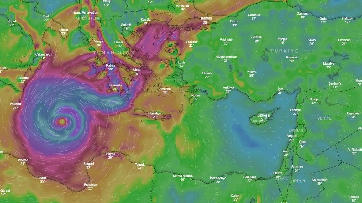 Tropik fırtına yaklaşırken hazırlıklar sürüyor... Ege'de kasırga ne zaman başlayacak?