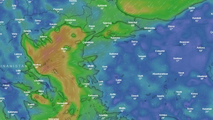 Meteoroloji'den Marmara için son dakika kasırga ve kuvvetli yağış uyarısı: 90 km'ye çıkabilir