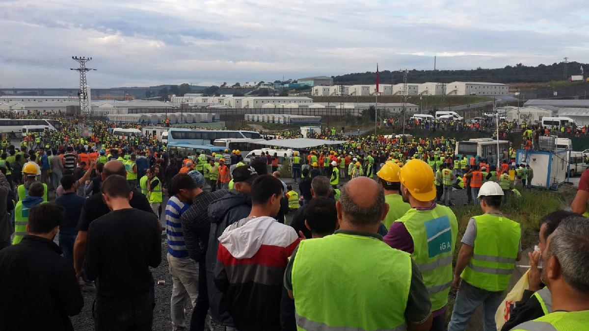 Son dakika | 3. Havalimanı'nda işçi isyanı!