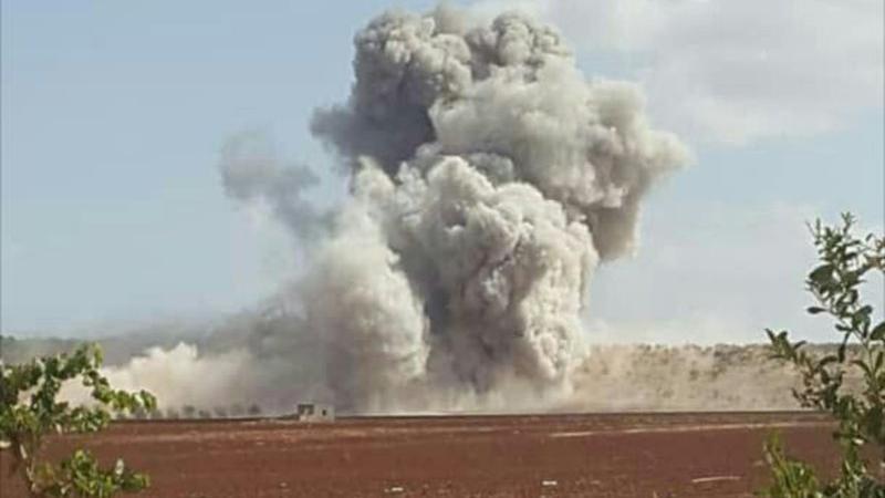 Rus ve Suriye uçakları İdlib'i bombalıyor