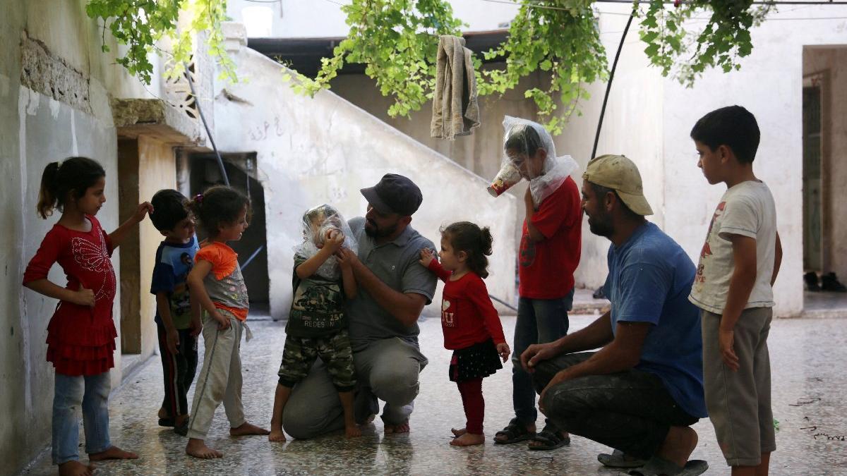 Son dakika! Reuters görüntüledi... İdlib'de 'savaş hazırlıkları'