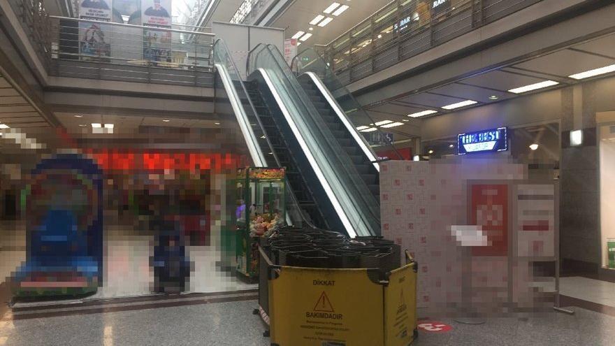 MetroCity'den yürüyen merdiven açıklaması