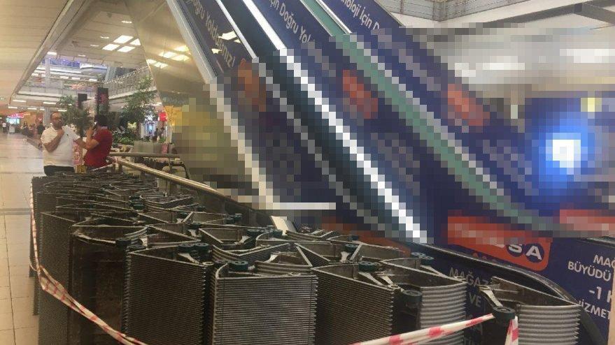 Metrocity AVM'nin yürüyen merdivenine haciz geldi! Aileler sozcu.com.tr'ye açıklamada bulundu