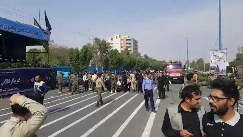 İran'da askeri geçit törenine silahlı saldırı: 24 ölü, 30'dan fazla yaralı