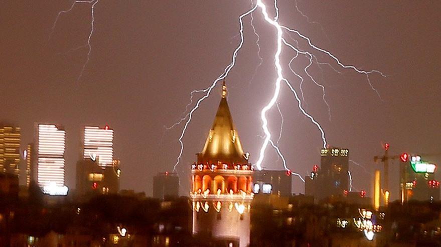 Son hava durumu – İstanbul'un için şiddetli yağış uyarısı yapıldı