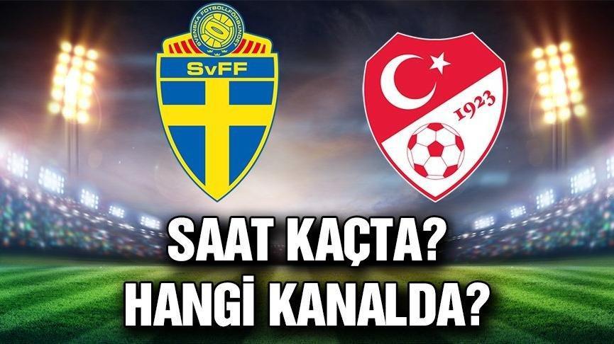 İsveç Türkiye maçı hangi kanalda, saat kaçta? Türkiye ilk 11'i…