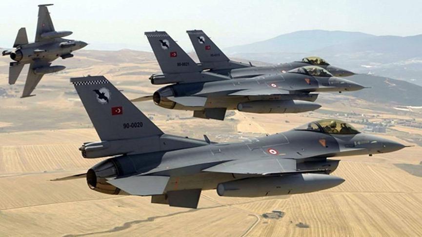 Irak'ın kuzeyine hava harekatı! 4 terörist etkisiz hale getirildi