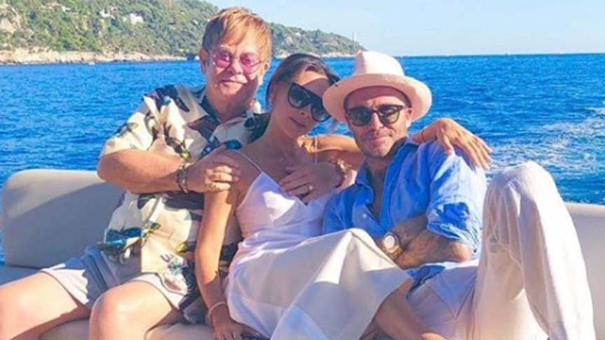 Boşanacakları iddia edilen Beckham çifti aşk tazeledi