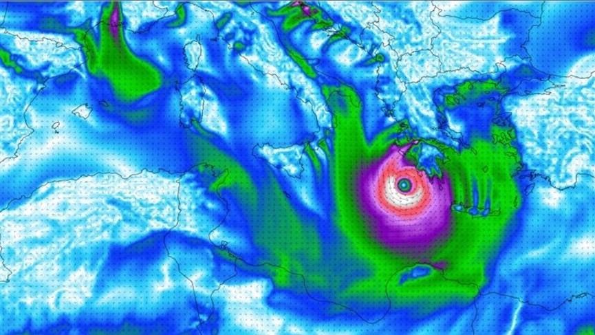 Son dakika: Meteoroloji doğruladı 120KM! Eğer kasırganın yönü değişmezse...