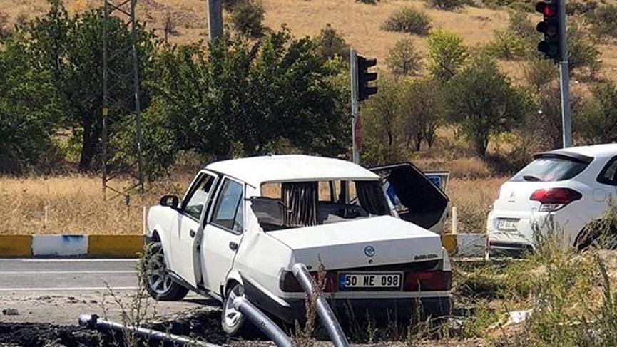 Nevşehir'de kamyon ile otomobil çarpıştı: 2 ölü, 3 yaralı