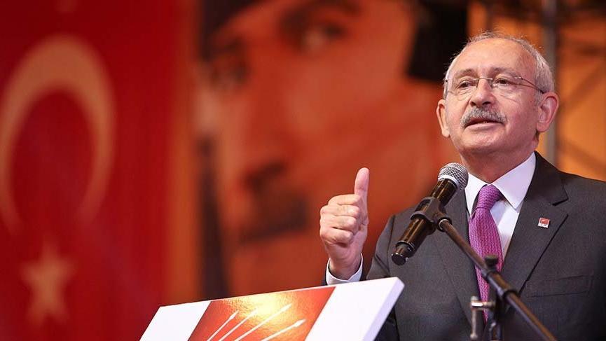 Kılıçdaroğlu: 'Sistem mistem hepsi hikaye tek adam rejimindeyiz'