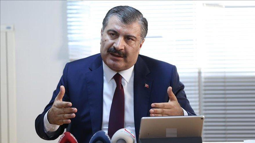 Sağlık Bakanı Fahrettin Koca'dan son dakika şarbon açıklaması