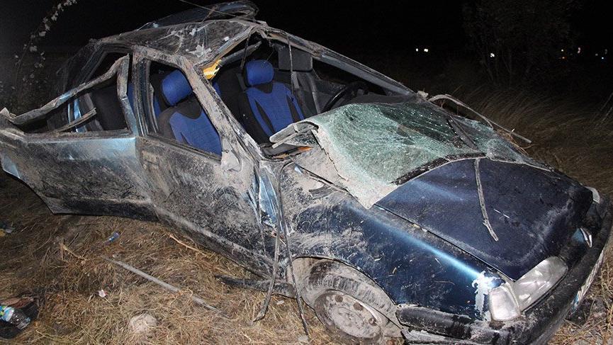 Konya'da trafik kazası sonucu bir aile yok oldu