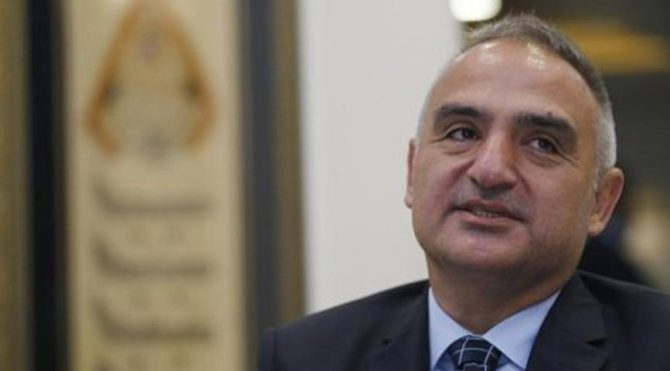 Kültür ve Turizm Bakanı Ersoy: Göreve gelirken Değişmeyin, değiştirin' dediler, bunu yapıyorum 29