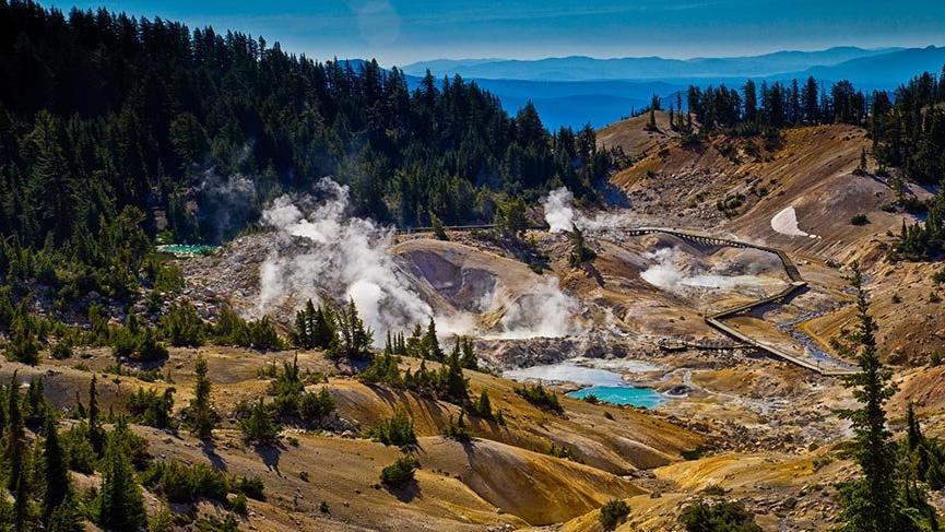 Kaliforniya'nın göz alıcı ulusal parkları
