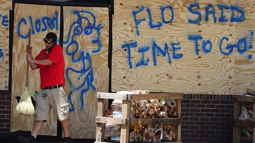 ABD, korkuyla Florence kasırgasını bekliyor
