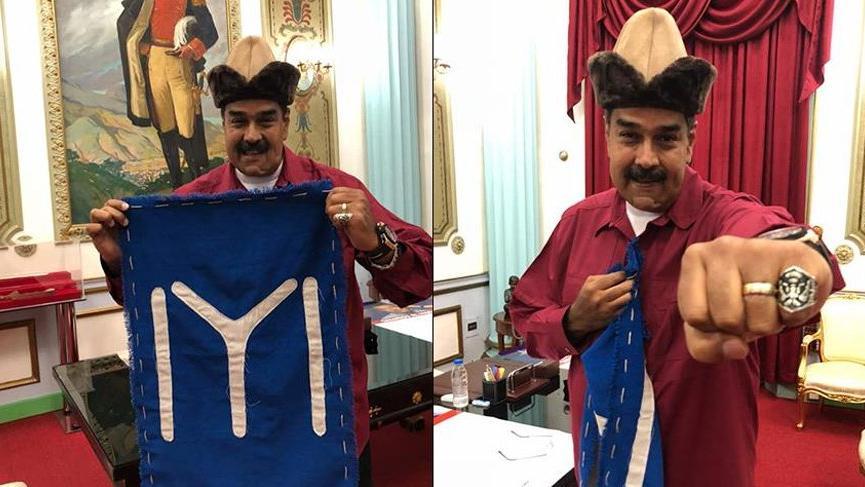 Çavuşoğlu'nun Maduro ziyaretine 'Diriliş' damga vurdu